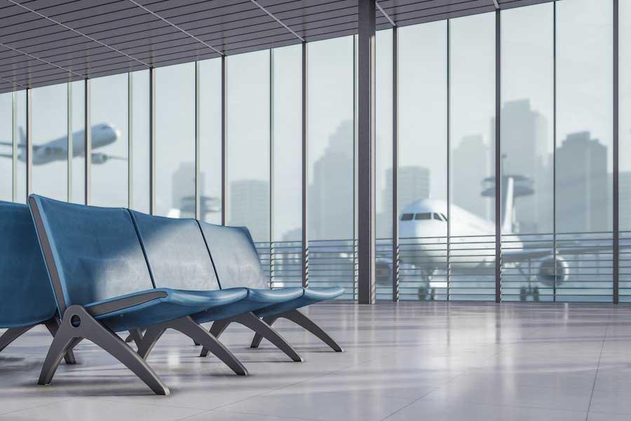 Fontanería sin obras en aeropuerto con Distrai Tecnología