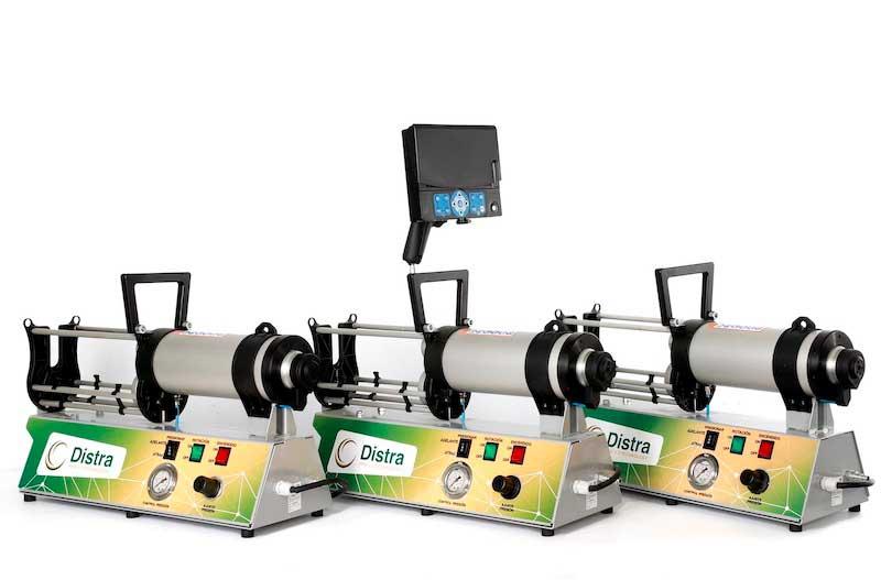 Equipamiento para inyectar epoxy para fontanería sin obras Distrai Tecnología.