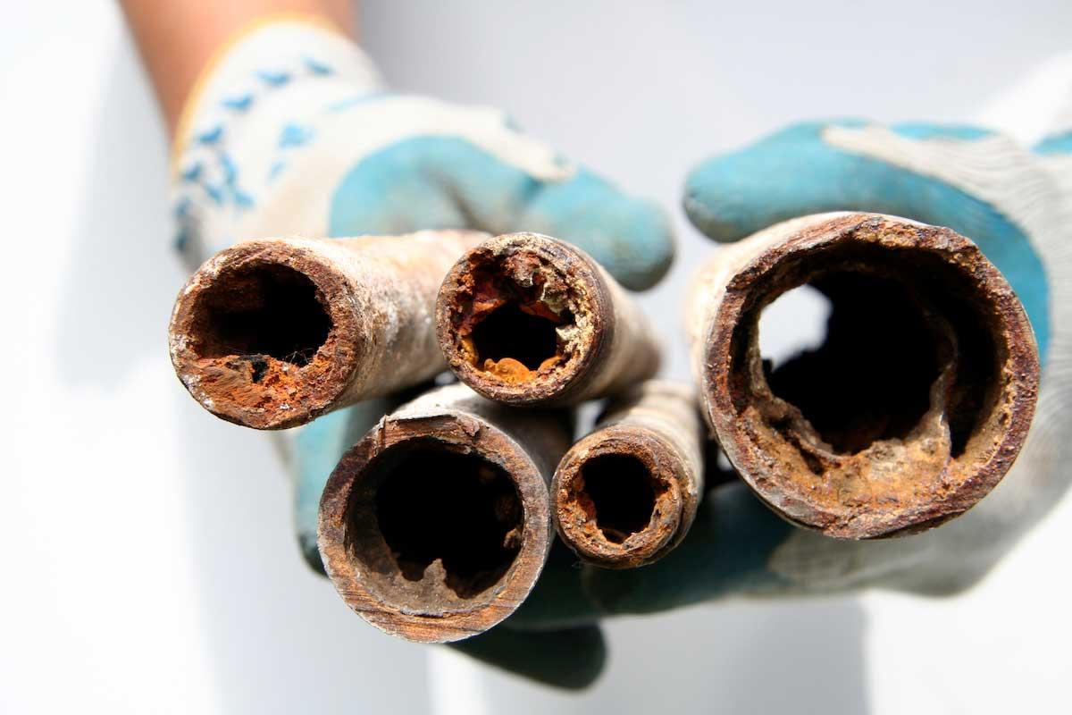 Grupo de tuberias obstruidas Distrai Tecnología