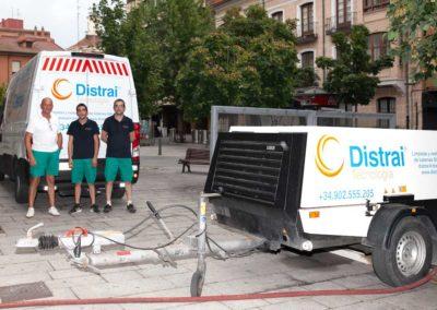 Equipo técnicos de Distrai Tecnología