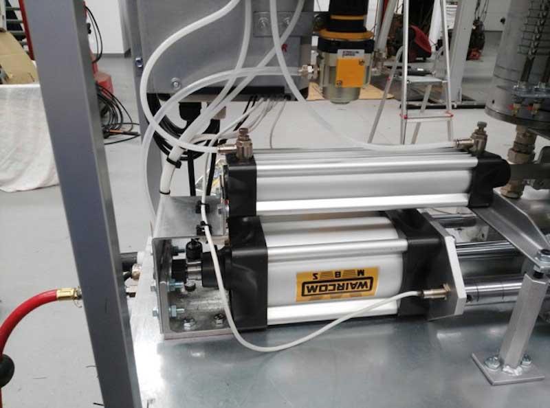 Maquina inyectar resinas epoxy de Distrai Tecnología
