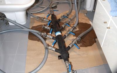 Rehabilitación de tuberías con poco caudal