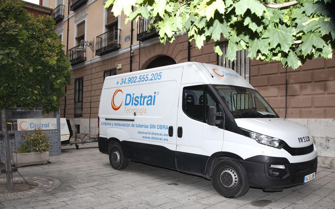 fontanería sin obras Valladolid DISTRAI