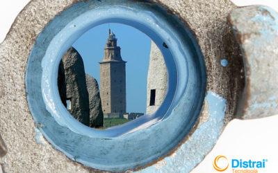 Nueva delegación de rehabilitación de bajantes en La Coruña